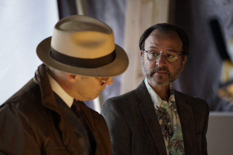 "THE BLACKLIST -- ""Sir Crispin Crandall"" Episode 306 -- Pictured: Fisher Stevens as Marvin Gerard -- (Photo by: Peter Kramer/NBC)"