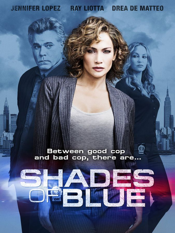 Shades of Blue Jennifer Lopez Poster
