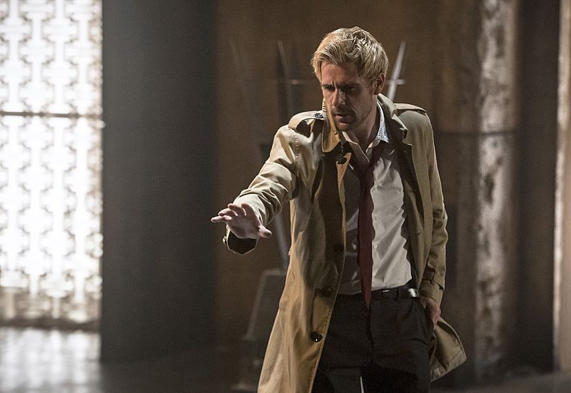 """Arrow -- """"Haunted"""" -- Image AR404B_0197b.jpg -- Pictured: Matt Ryan as Constantine -- Photo: Cate Cameron/ The CW -- © 2015 The CW Network, LLC. All Rights Reserved."""