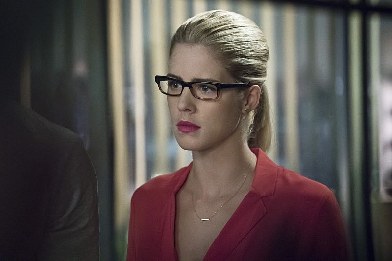"""Arrow -- """"Haunted"""" -- Image AR404A_0044b.jpg -- Pictured: Emily Bett Rickards as Felicity Smoak -- Photo: Katie Yu/ The CW -- © 2015 The CW Network, LLC. All Rights Reserved."""