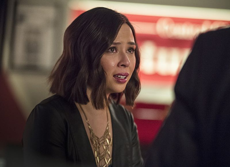 "The Flash -- ""The Darkness and the Light"" -- Image FLA205B_0053b.jpg -- Pictured: Malese Jow as Linda Park -- Photo: Cate Cameron/The CW -- © 2015 The CW Network, LLC. All rights reserved."