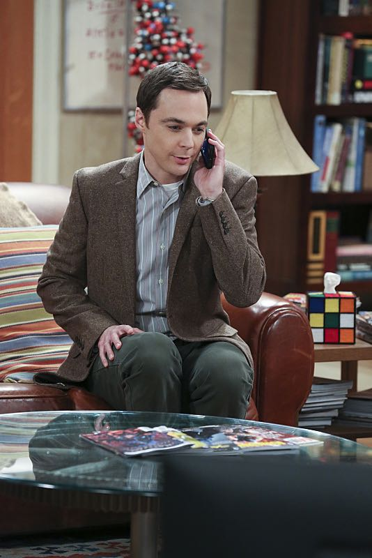 """""""The Spock Resonance"""" -- While being interviewed for a documentary about Spock from """"Star Trek,"""" Sheldon (Jim Parsons, pictured) struggles to suppress his emotions about his recent break-up with Amy, on THE BIG BANG THEORY, Thursday, Nov. 5 (8:00-8:31 PM, ET/PT), on the CBS Television Network. Photo: Michael Yarish/Warner Bros. Entertainment Inc. © 2015 WBEI. All rights reserved."""