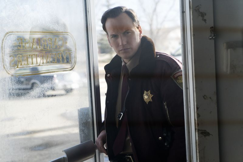 """FARGO -- """"The Myth of Sisyphus"""" -- Episode 203 (Airs October 26, 10:00 pm e/p) Pictured: Patrick Wilson as Lou Solverson. CR: Chris Large/FX"""