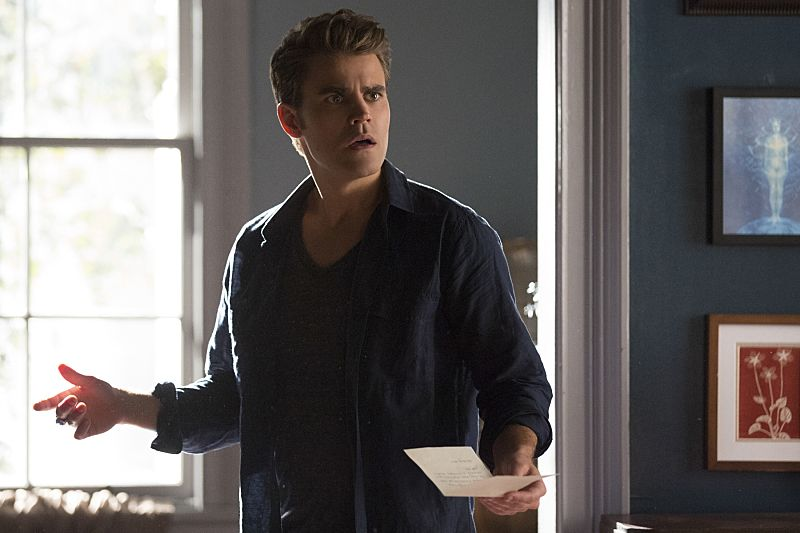 "The Vampire Diaries -- ""I Carry Your Heart With Me"" -- Image Number: VD704b_0180.jpg -- Pictured: Paul Wesley as Stefan -- Photo: Bob Mahoney/The CW -- © 2015 The CW Network, LLC. All rights reserved."