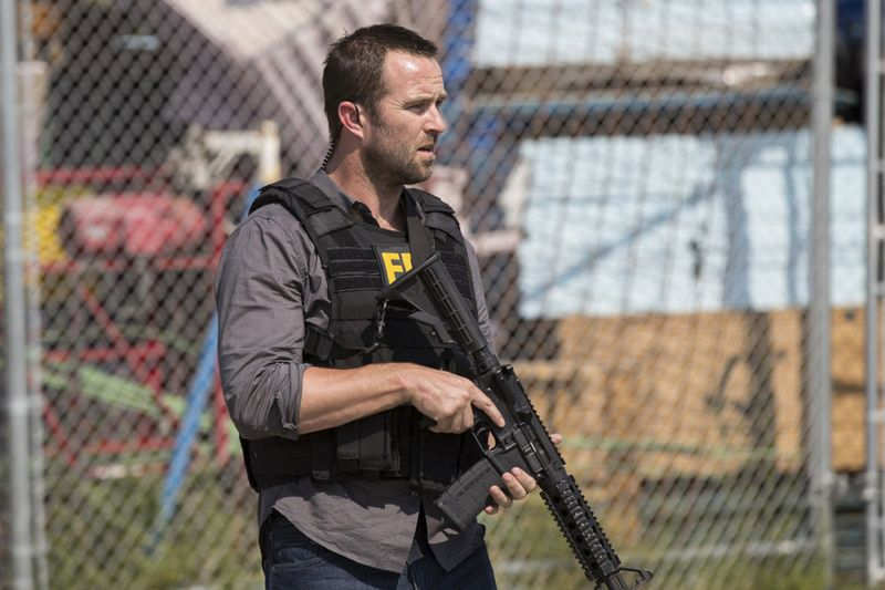 "BLINDSPOT -- ""Cede Your Soul"" Episode 106 -- Pictured: Sullivan Stapleton as Kurt Weller -- (Photo by: Paul Sarkis/NBC)"