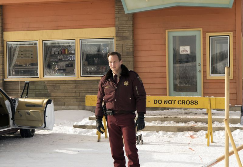 "FARGO -- ""Before The Law"" -- Episode 202 (Airs October 19, 10:00 pm e/p) Pictured: Patrick Wilson as Lou Solverson. CR: Chris Large/FX"