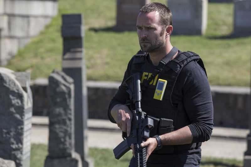 "BLINDSPOT -- ""Split The Law"" Episode 105 -- Pictured: Sullivan Stapleton as Kurt Weller -- (Photo by: Paul Sarkis/NBC)"