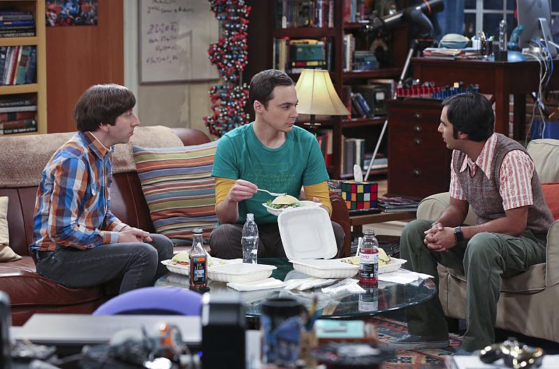 """""""The Mystery Date Observation"""" -- Sheldon, Wolowitz and Koothrappali post an online advertisement to find Sheldon a new girlfriend, on THE BIG BANG THEORY, Thursday, Nov. 12 (8:00-8:31 PM, ET/PT), on the CBS Television Network. Pictured left to right: Simon Helberg, Jim Parsons and Kunal Nayyar Photo: Michael Yarish/Warner Bros. Entertainment Inc. © 2015 WBEI. All rights reserved."""