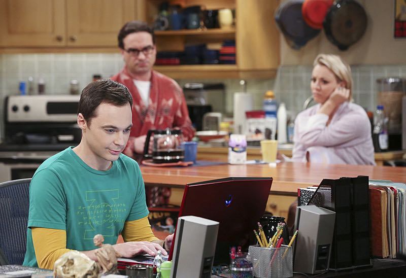 """""""The Mystery Date Observation"""" -- Sheldon, Wolowitz and Koothrappali post an online advertisement to find Sheldon a new girlfriend, on THE BIG BANG THEORY, Thursday, Nov. 12 (8:00-8:31 PM, ET/PT), on the CBS Television Network. Pictured left to right: Jim Parsons, Johnny Galecki and Kaley Cuoco Photo: Michael Yarish/Warner Bros. Entertainment Inc. © 2015 WBEI. All rights reserved."""