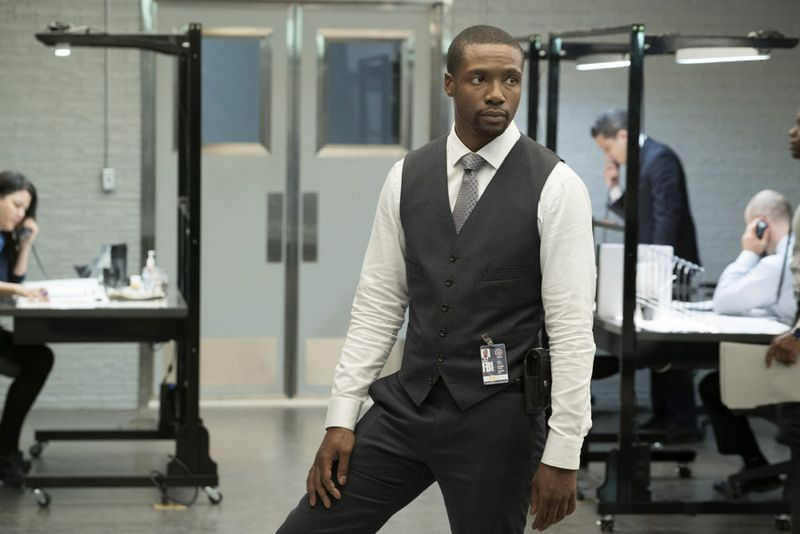 """BLINDSPOT -- """"Persecute Envoys"""" Episode 108 -- Pictured: Rob Brown as Edgar Reed -- (Photo by: Peter Kramer/NBC)"""
