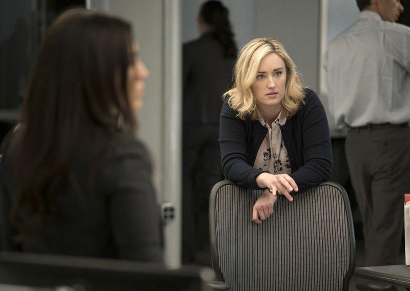 "BLINDSPOT -- ""Persecute Envoys"" Episode 108 -- Pictured: Ashley Johnson as Patterson -- (Photo by: Peter Kramer/NBC)"