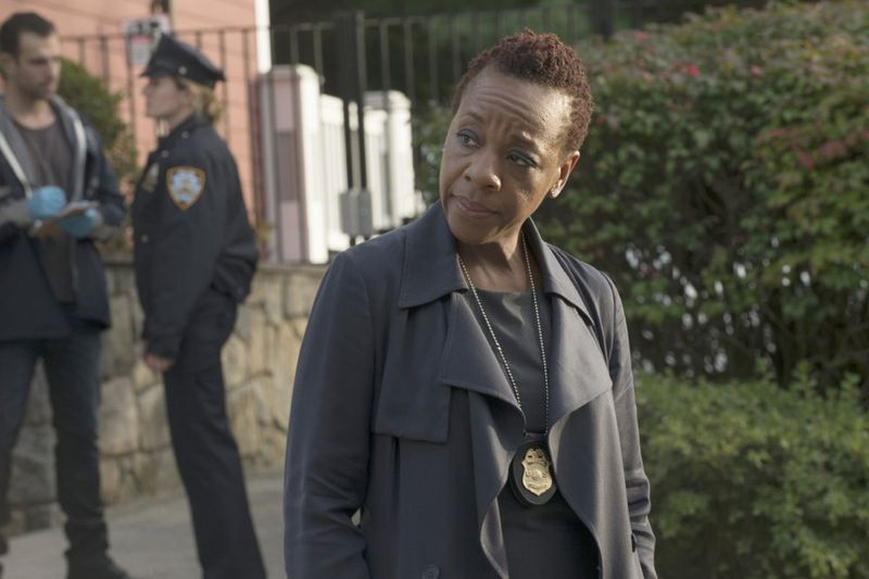 """BLINDSPOT -- """"Persecute Envoys"""" Episode 108 -- Pictured: Marianne Jean-Baptiste as Bethany Mayfair -- (Photo by: Barbara Nitke/NBC)"""
