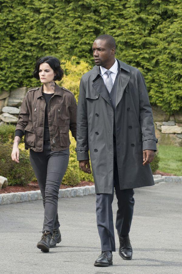 "BLINDSPOT -- ""Persecute Envoys"" Episode 108 -- Pictured: (l-r) Jaimie Alexander as Jane Doe, Rob Brown as Edgar Reed -- (Photo by: Barbara Nitke/NBC)"