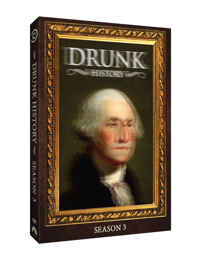 Drunk History Season 3 DVDDrunk History Season 3 DVD