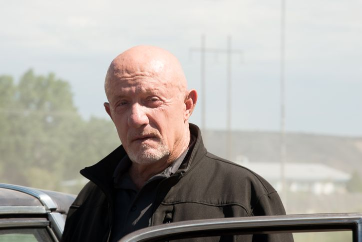 Jonathan Banks as Mike Ehrmantraut - Better Call Saul _ Season 2, Episode 2 - Photo Credit: Ursula Coyote/Sony Pictures Television/ AMC