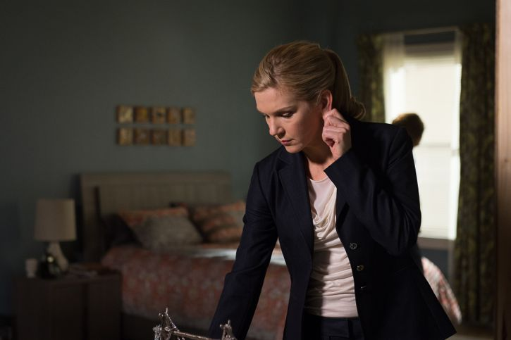Rhea Seehorn as Kim Wexler - Better Call Saul _ Season 2, Episode 2 - Photo Credit: Ursula Coyote/Sony Pictures Television/ AMC