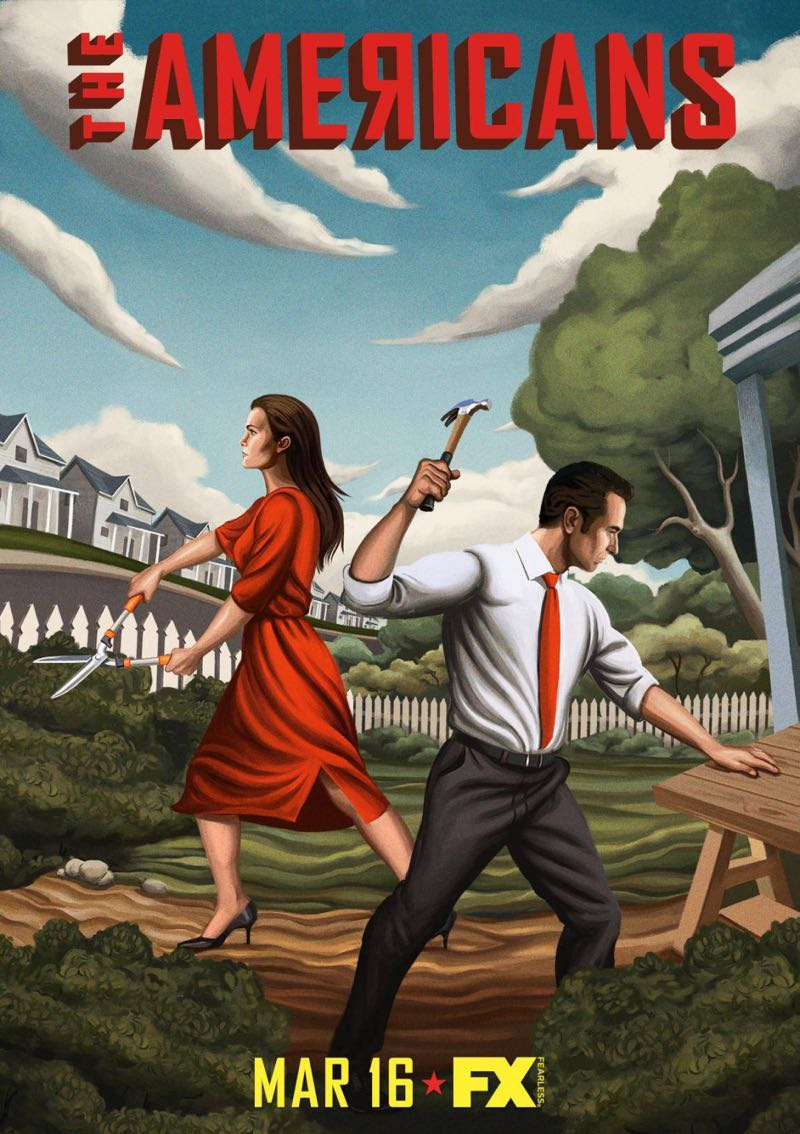 The Americans Season 4 Poster Art FX