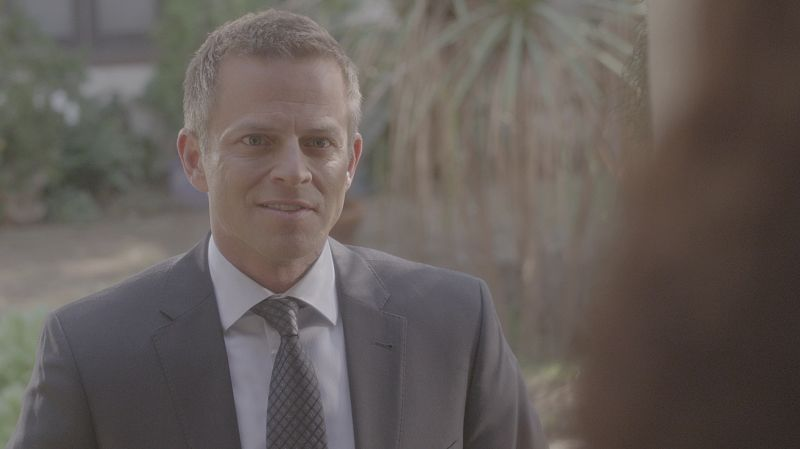 """""""A Badge and a Gun"""" -- The BAU searches Los Angeles after the team discovers security footage that shows an UnSub being invited into victims' homes, on CRIMINAL MINDS, Wednesday, Feb. 24 (9:00-10:00 PM, ET/PT) on the CBS Television Network. Pictured: Carmine Giovinazzo (""""CSI: NY"""") guest stars as Andrew Meeks, a former janitor. Photo: CBS ©2015 CBS Broadcasting, Inc. All Rights Reserved"""
