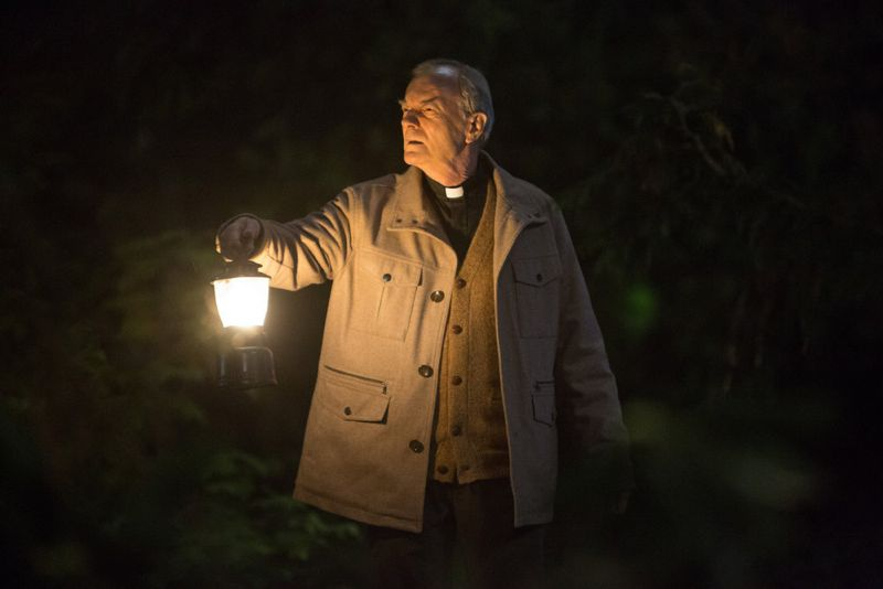 """GRIMM -- """"Into The Schwarzwald"""" Episode 512 -- Pictured: Wolf Muser as Father Eickholt -- (Photo by: Scott Green/NBC)"""