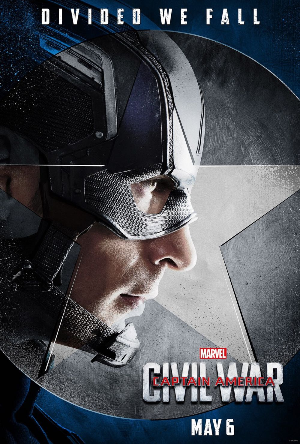 CAPTAIN AMERICA CIVIL WAR : Chris Evans Captain America