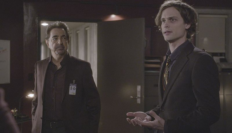 """""""Derek"""" -- When Morgan is abducted, the BAU scrambles to find him and save his life, on CRIMINAL MINDS, Wednesday, March 2 (9:00-10:00 PM, ET/PT) on the CBS Television Network. Series star Thomas Gibson directed the episode. Legendary actor Danny Glover guest stars as Morgan's father, Hank. Pictured: Joe Mantegna as David Rossi, Matthew Gray Gubler as Dr. Spencer Reid.   Photo: Trae Patton/CBS ©2016 CBS Broadcasting, Inc. All Rights Reserved"""