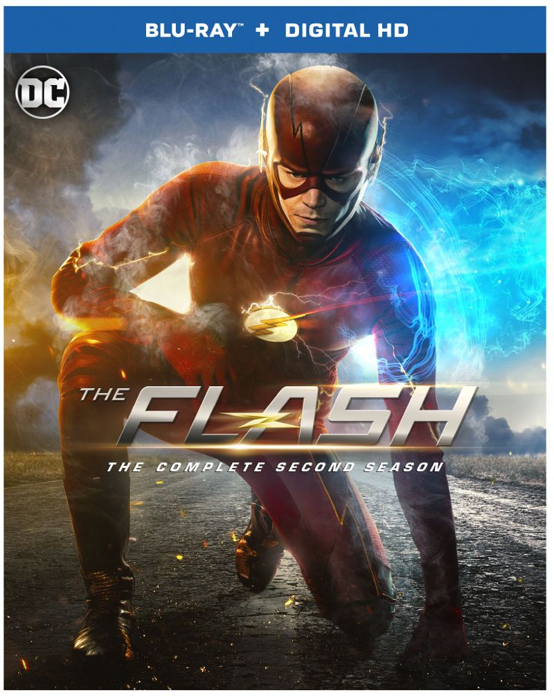 The Flash Season 2 Bluray Digital HD Box Cover Artwork