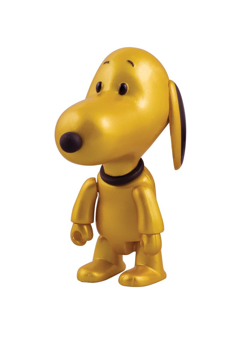 "Snoopy Qee Mystery Figure Gold Edition $8.00 3"" gold Snoopy Qee figure. Limited edition of 550 2 per person per day"