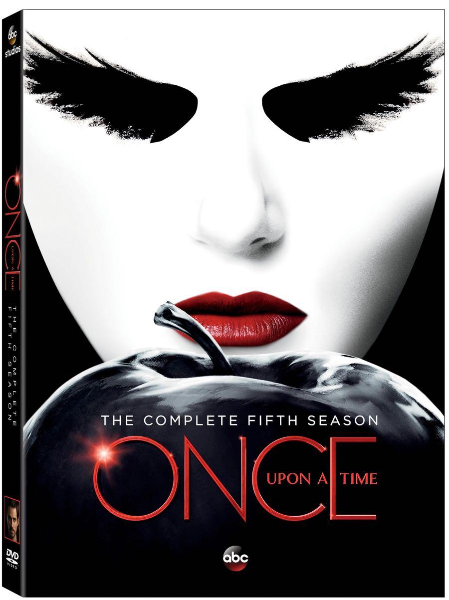 ONCE UPON A TIME Season 5 DVD