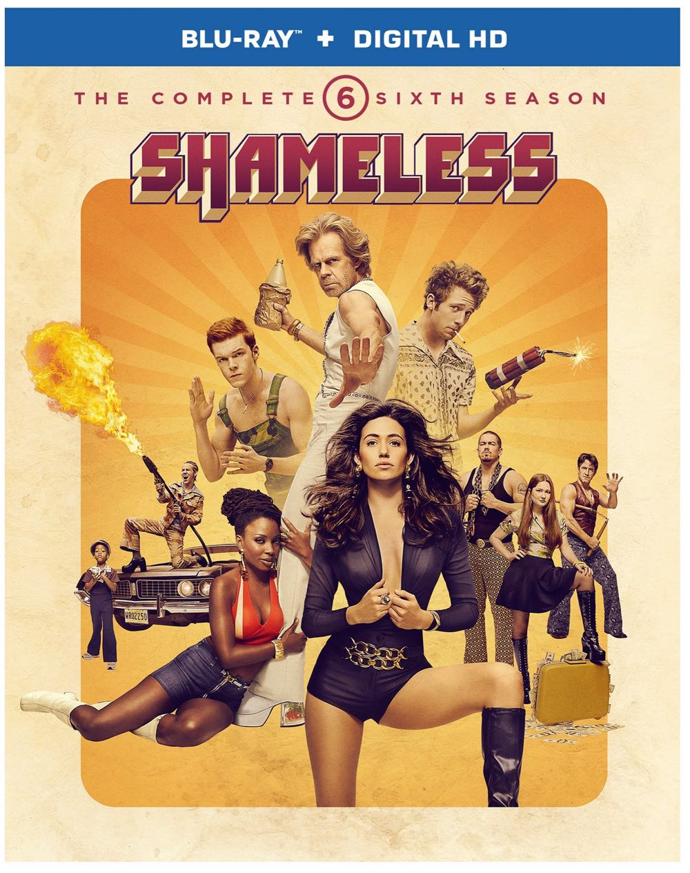 Shameless Season 6 Bluray