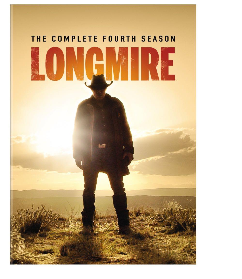 Longmire Season 4 DVD