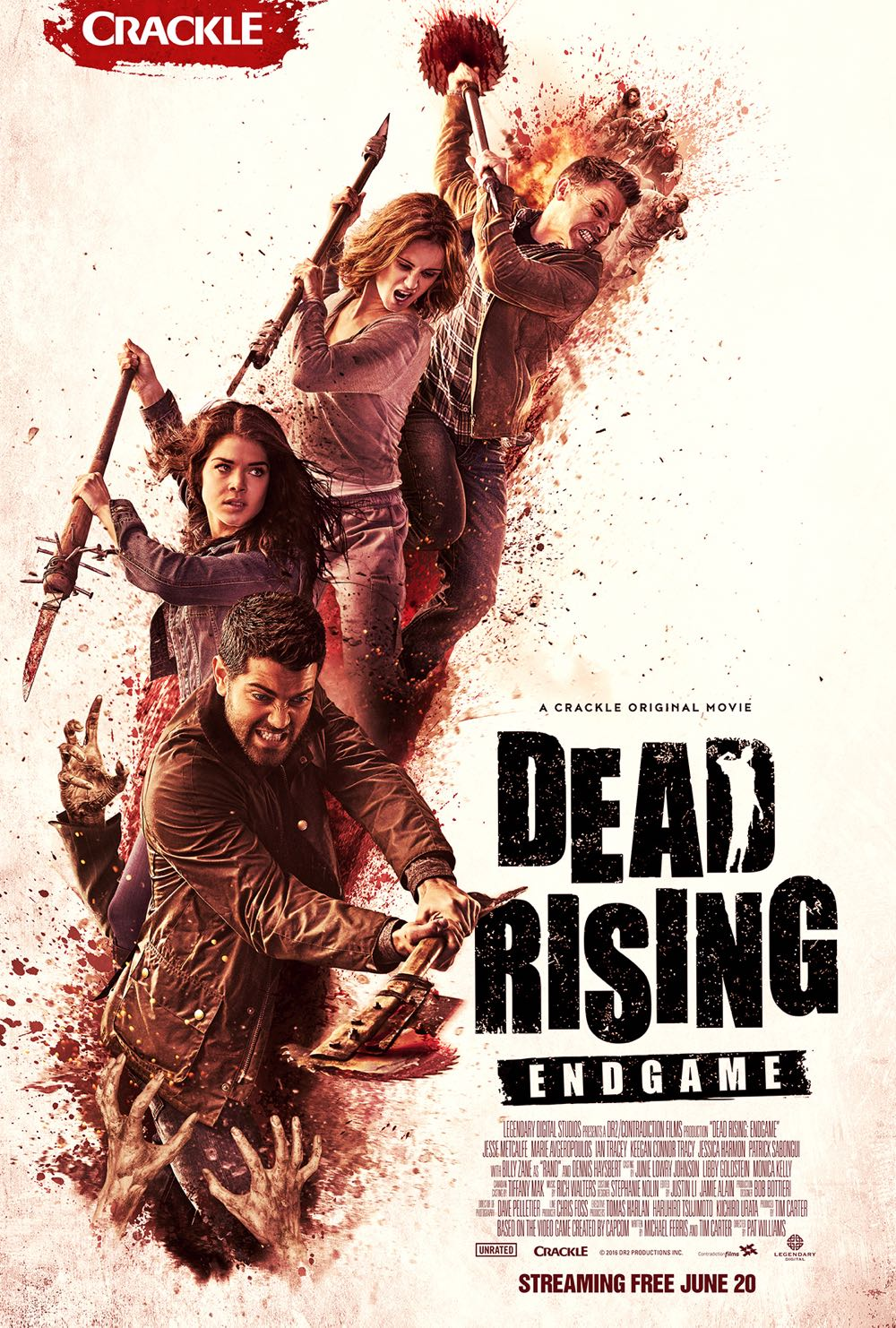 Dead Rising Endgame Poster Crackle