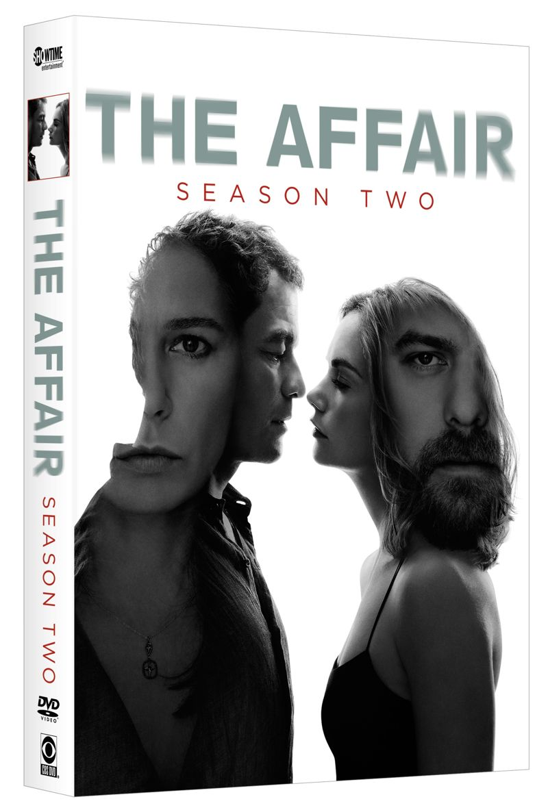 The Affair Season 2 DVD 3D