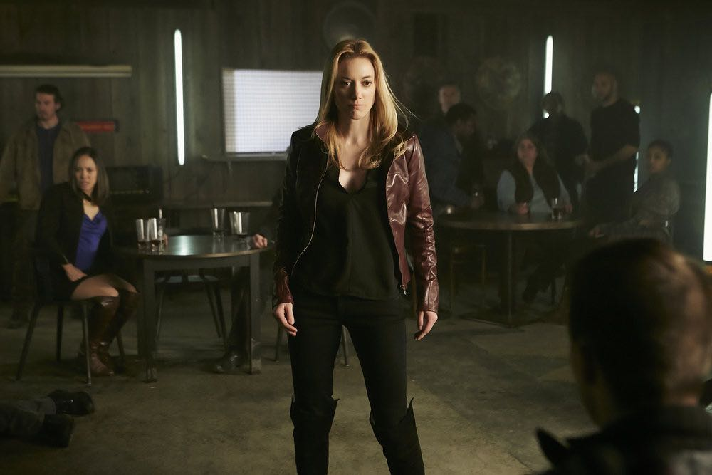 "DARK MATTER -- ""We Voted Not to Space You"" Episode 205 -- Pictured: Zoie Palmer as The Android -- (Photo by: Ian Watson/Prodigy Pictures/Syfy)"