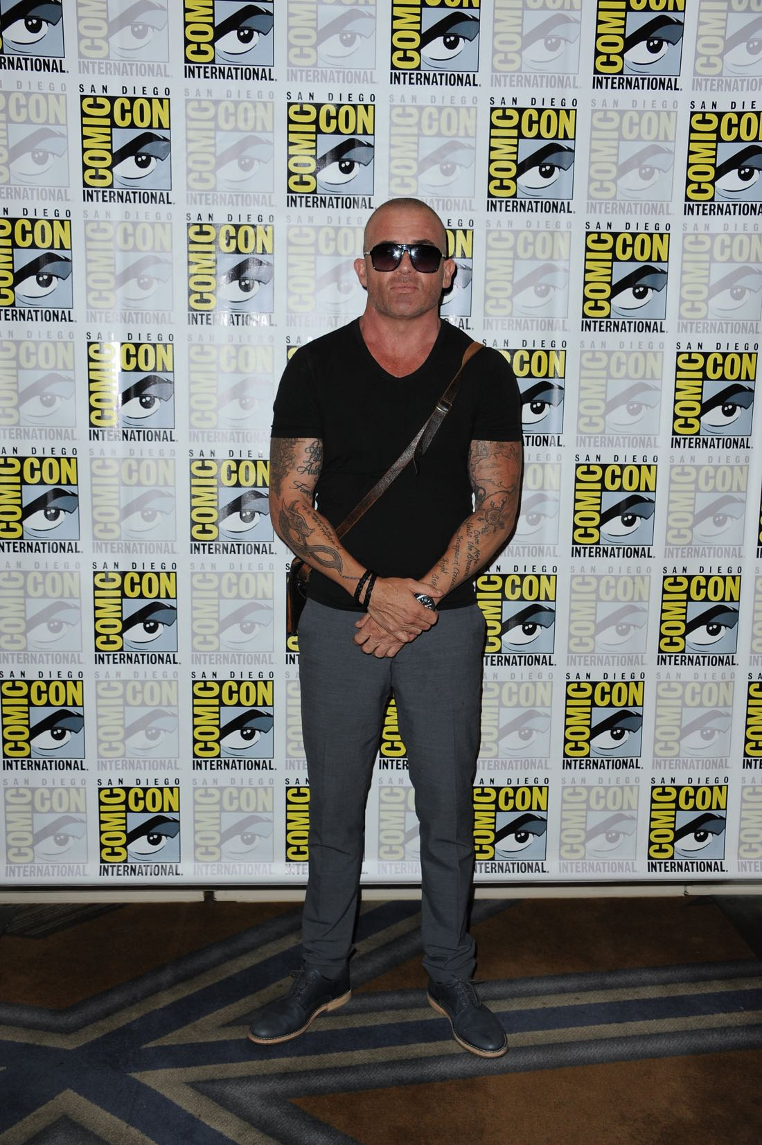 FOX FANFARE AT SAN DIEGO COMIC-CON © 2016: PRISON BREAK cast member Dominic Purcell during the PRISON BREAK press room on Sunday, July 24 at the FOX FANFARE AT SAN DIEGO COMIC-CON © 2016. CR: Scott Kirkland/FOX © 2016 FOX BROADCASTING
