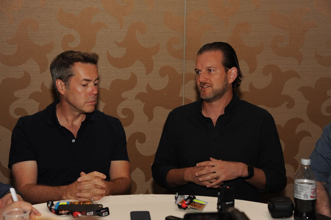 FOX FANFARE AT SAN DIEGO COMIC-CON © 2016: PRISON BREAK Executive Producers Vaun Wilmott and during the PRISON BREAK press room on Sunday, July 24 at the FOX FANFARE AT SAN DIEGO COMIC-CON © 2016. CR: Scott Kirkland/FOX © 2016 FOX BROADCASTING