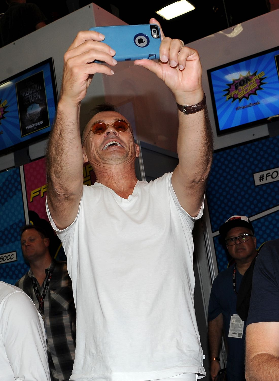 FOX FANFARE AT SAN DIEGO COMIC-CON © 2016: PRISON BREAK cast member Robert Knepper during the PRISON BREAK booth signing on Sunday, July 24 at the FOX FANFARE AT SAN DIEGO COMIC-CON © 2016. CR: Scott Kirkland/FOX © 2016 FOX BROADCASTING