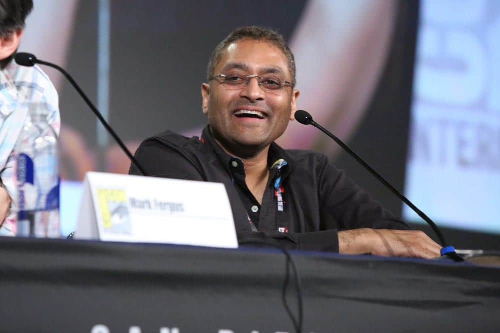 """COMIC-CON INTERNATIONAL: SAN DIEGO -- """"The Expanse Panel"""" -- Pictured: Executive Producer Naren Shankar -- (Photo by: Evans Vestal Ward/Syfy)"""