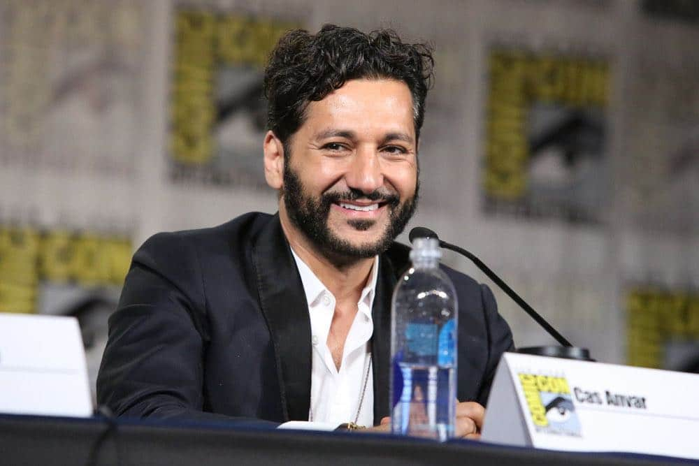 """COMIC-CON INTERNATIONAL: SAN DIEGO -- """"The Expanse Panel"""" -- Pictured: Cas Anvar -- (Photo by: Evans Vestal Ward/Syfy)"""