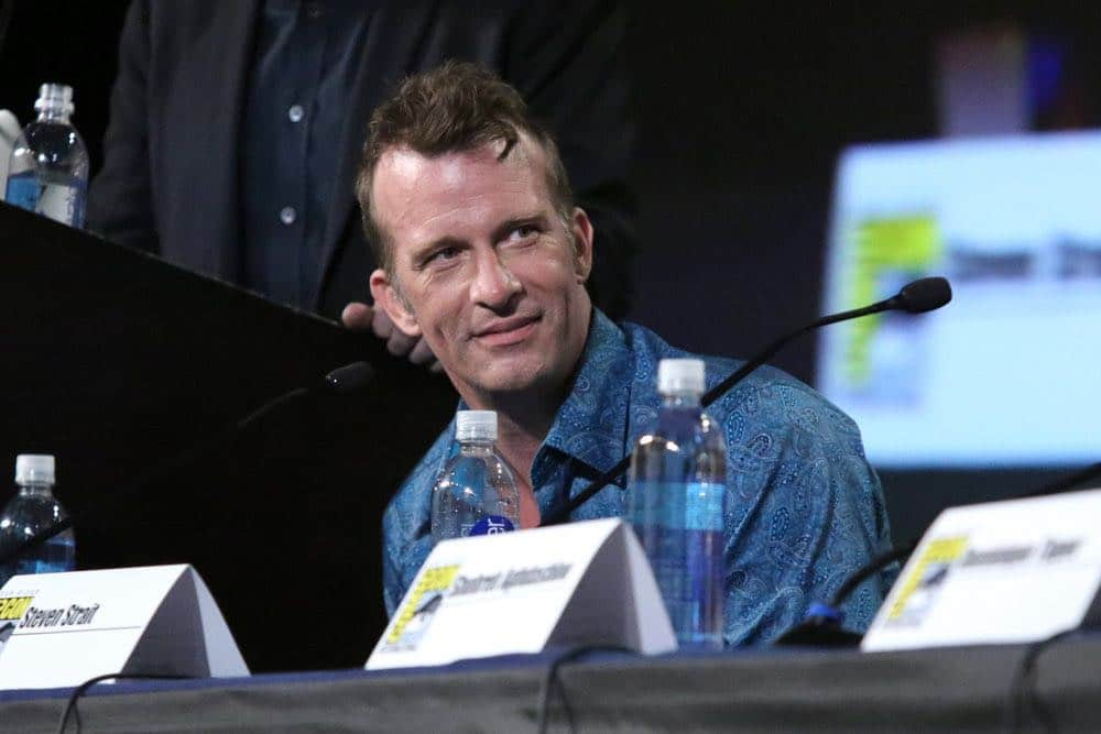 """COMIC-CON INTERNATIONAL: SAN DIEGO -- """"The Expanse Panel"""" -- Pictured: Thomas Jane -- (Photo by: Evans Vestal Ward/Syfy)"""