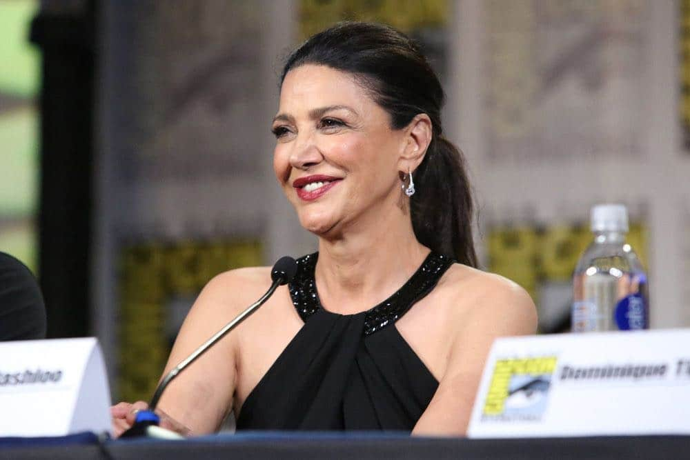 """COMIC-CON INTERNATIONAL: SAN DIEGO -- """"The Expanse Panel"""" -- Pictured: Shohreh Aghdashloo -- (Photo by: Evans Vestal Ward/Syfy)"""