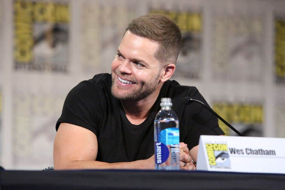"""COMIC-CON INTERNATIONAL: SAN DIEGO -- """"The Expanse Panel"""" -- Pictured: Wes Chatham -- (Photo by: Evans Vestal Ward/Syfy)"""