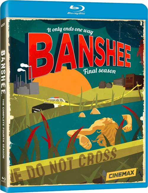 Banshee Season 4 Bluray