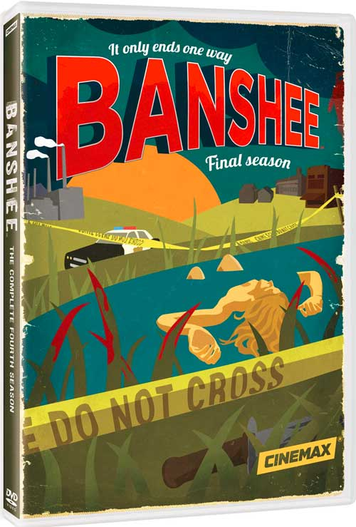 Banshee Season 4 DVD
