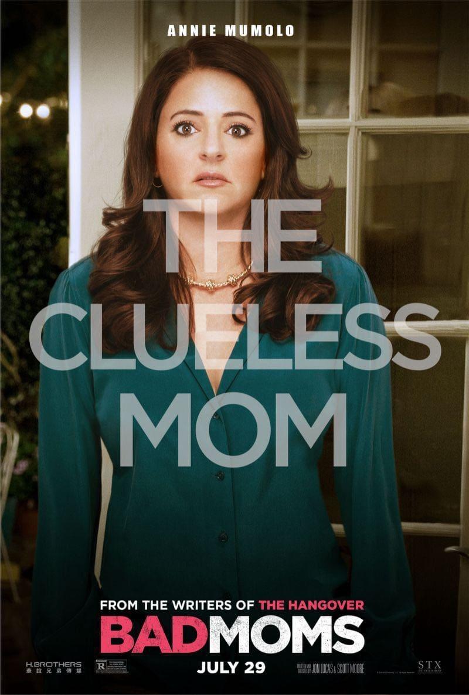 Bad Moms Poster Annie Mumolo