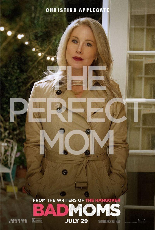 Bad Moms Poster Christina Applegate
