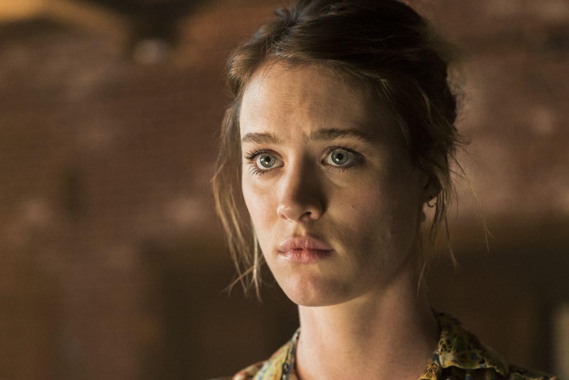 Mackenzie Davis as Cameron Howe- Halt and Catch Fire _ Season 3, Episode 4 - Photo Credit: Tina Rowden/AMC