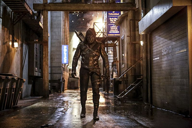 """Arrow -- """"Legacy"""" -- Image AR501a_0060b --- Pictured: Prometheus -- Photo: Bettina Strauss/The CW -- © 2016 The CW Network, LLC. All Rights Reserved."""