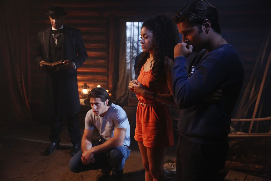 "DEAD OF SUMMER - ""Home Sweet Home"" - The counselors confront the evil that lurks in the lake of Camp Stillwater in ""Home Sweet Home,"" an all-new episode of ""Dead of Summer,"" airing TUESDAY, AUGUST 23 (9:00 - 10:00 p.m. EDT), on Freeform, the new name for ABC Family. (Freeform/Jack Rowand) TONY TODD, PAULINA SINGER, RONEN RUBINSTEIN"