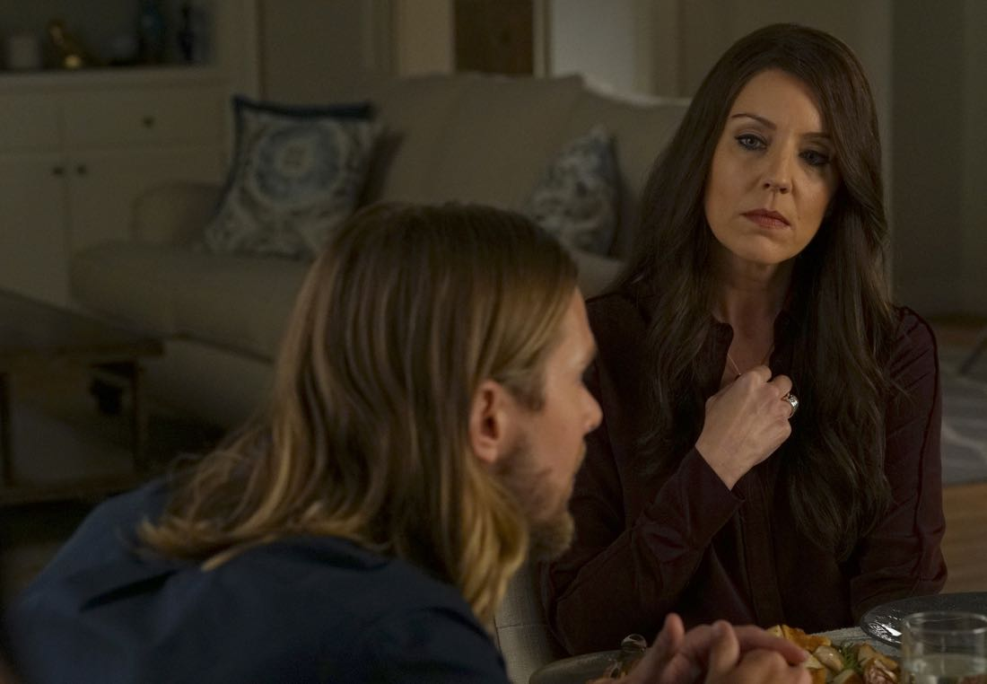 """PRETTY LITTLE LIARS - """"Original G'A'ngsters"""" - Coming back into the picture, Jason visits Rosewood to caution Ali about being too trusting of Mary in """"Original G'A'ngsters,"""" an all-new episode of Freeform's hit original series """"Pretty Little Liars,"""" airing TUESDAY, AUGUST 9 (8:00 - 9:00 p.m. EDT). (Freeform/Byron Cohen) ANDREA PARKER"""