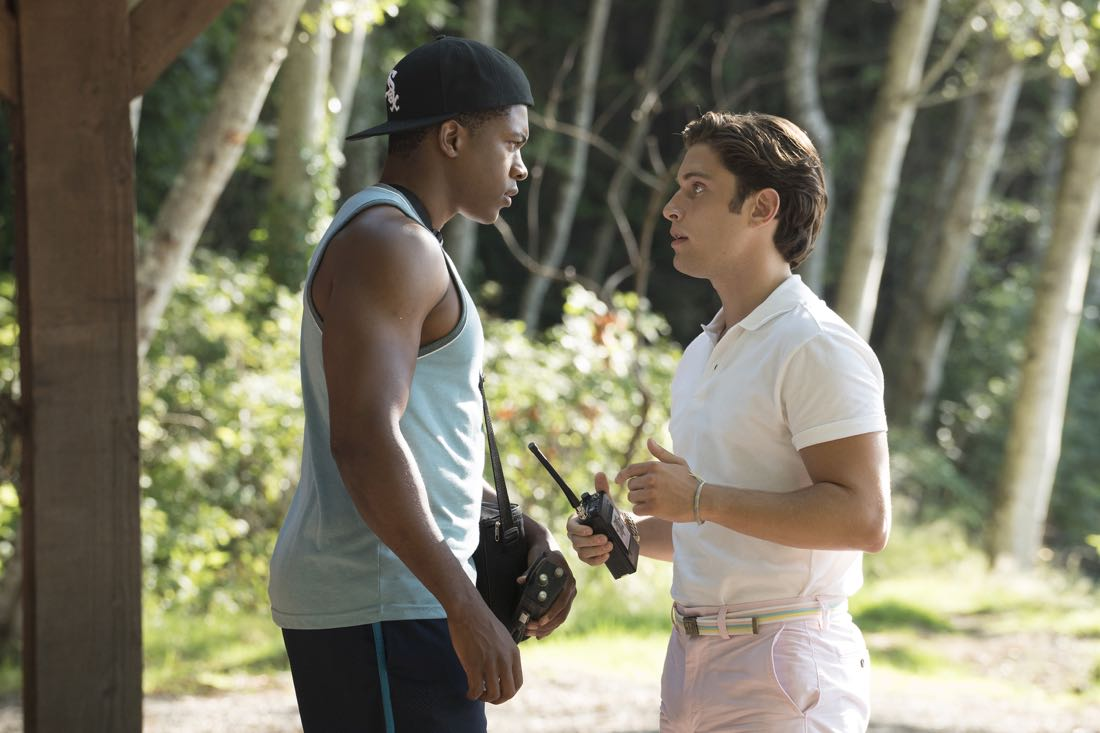 "DEAD OF SUMMER - ""Townie"" - With the information he has found about Camp Stillwater, Deputy Garrett Sykes comes up with a plan in ""Townie,"" an all new episode of ""Dead of Summer,"" airing TUESDAY, AUGUST 9 (9:00 - 10:00 p.m. EDT) on Freeform (the new name for ABC Family). (ABC/Katie Yu) ELI GOREE, RONEN RUBINSTEIN"